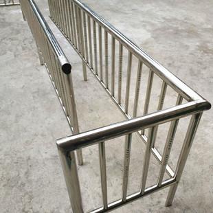 304不锈钢围栏来图来样定制直型安全护栏交通安全设施防护围栏