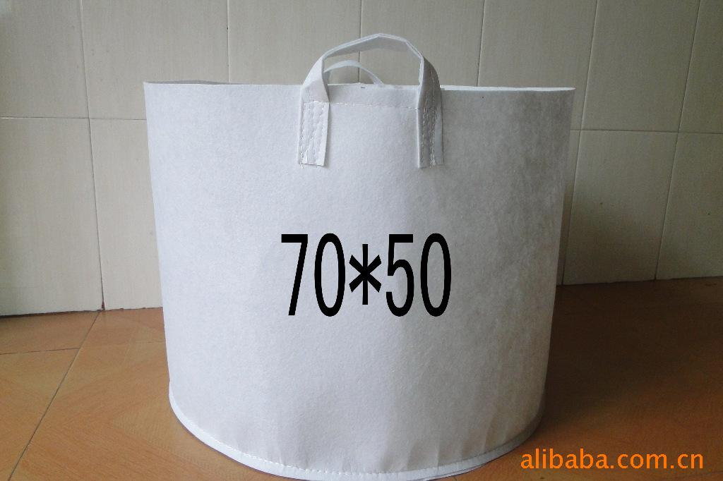 进口无纺布大量供应美植袋、种植袋、植树袋、花苗袋 70*50